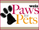 2013 Weis Paws for Pets Logo
