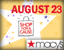 2014 Shop for a Cause Widget Ad
