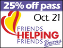 Friends Helping Friends Day at Boscov's