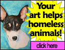 Your artwork helps homeless pets
