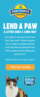 FreshStep Cat Litter Program