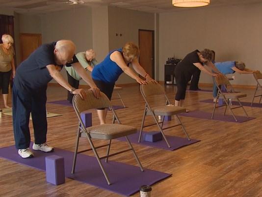 Chair Yoga Class   The Humane Society of Harford County