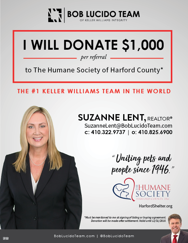 suzanne lent donation flyer the humane society of harford county