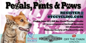 Pedals, Pints & Paws