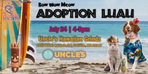 Bow Wow Meow Adoption Luau