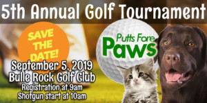 Putts Fore Paws Golf Tournament