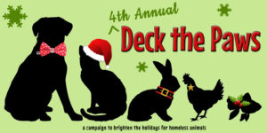 Deck the Paws Brightens the Holidays for Animals at the Humane Society of Harford County