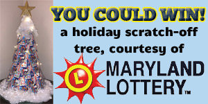 You Could Win a Holiday Scratch-Off Tree